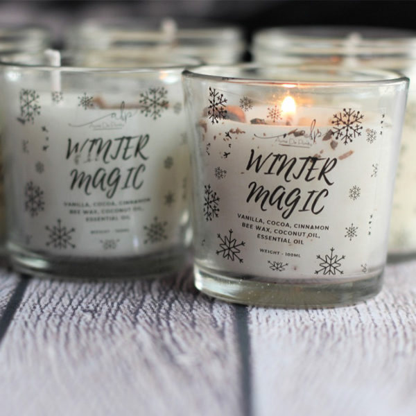 Winter Magic Candles
