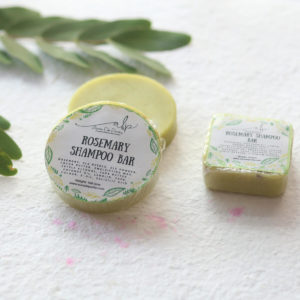 Buy Organic Rosemary Green Shampoo Bar Online