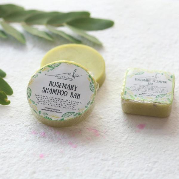 Buy Organic Rosemary Green Shampoo Bar Online